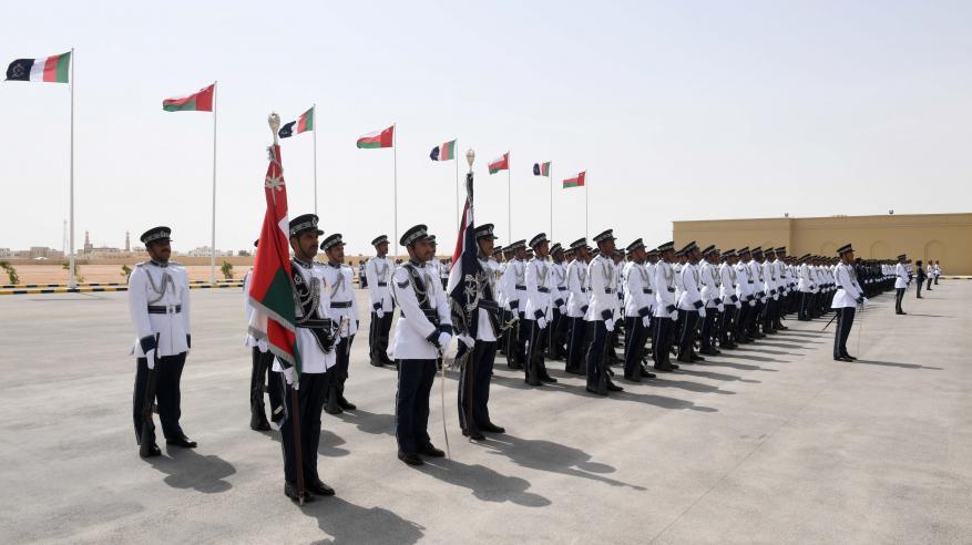 شرطة عمان السلطانية تحتفل بافتتاح مركز شرطة ثمريت5