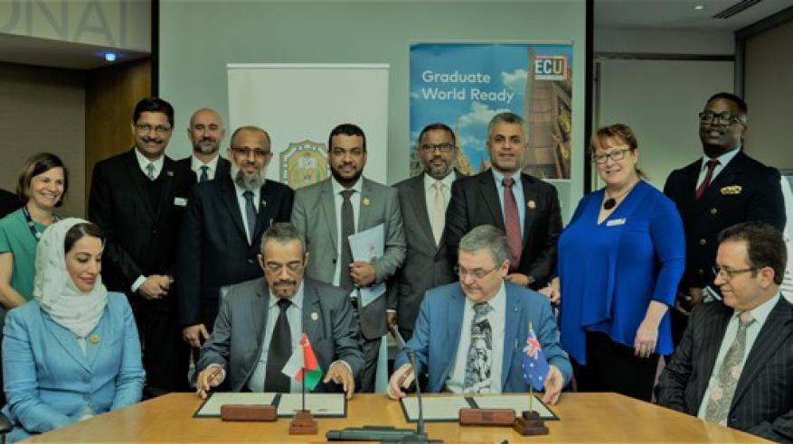 وفد جامعة السلطان قابوس يختتم زيارته لأستراليا بفتح مجالات التعاون الأكاديمي