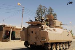"""اشتباكات عنيفة تسفر عن سقوط 7 """"إرهابيين"""" و15 عسكريا بمصر"""