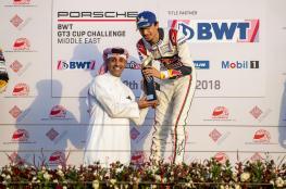 الفيصل الزبير يتصدر 3 سباقات في تحدي بورشه بالبحرين