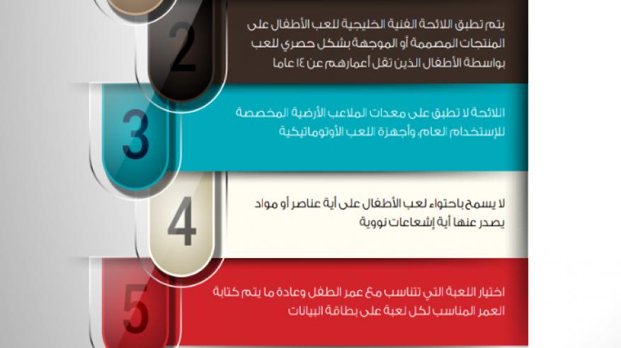 1241 شهادة إفراج مطابقة للائحة الخليجية للعب الأطفال