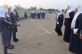 تواصل فعاليات المخيم الشتوي الـ 20 للمرشدات بأنشطة سياحية وزراعية