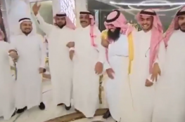 بالفيديو.. سجين سعودي يقيم حفل زفافه داخل السجن