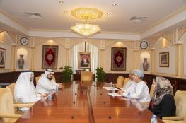 جامعة السلطان قابوس تستقبل وفدًا من جامعة الإمام عبدالرحمن بن فيصل