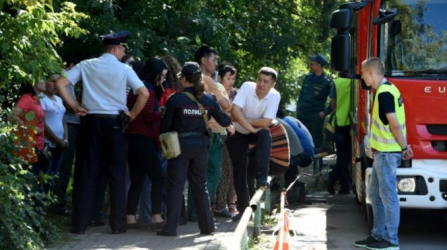مقتل 17 من قيرغيستان في حريق بموسكو