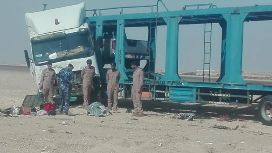 وفاة اثنين في حادث مروري بمنطقة فهود