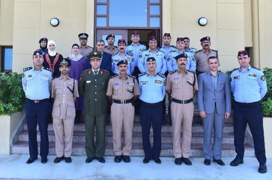 شرطة عمان السلطانية تستقبل وفد مديرية الأمن العام الأردنية