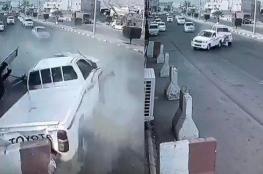بالفيديو.. مشاجرة بين سيارتين في السعودية