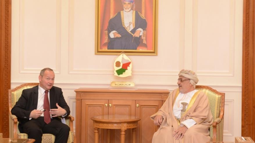 المنذري يبحث توسيع آفاق التعاون مع رئيس المجلس الوطني السويسري