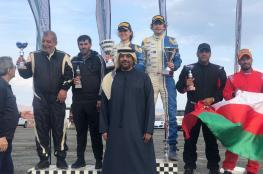 الراشدي يحصل على المركز الثالث في رالي الإمارات