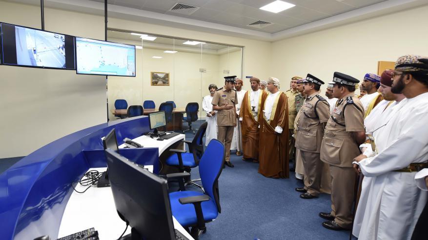 شرطة عمان السلطانية تحتفل بافتتاح مركز شرطة ثمريت8