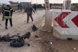 بالفيديو .. لحظة تفجير سيارة مفخخة عند الحدود السورية التركية