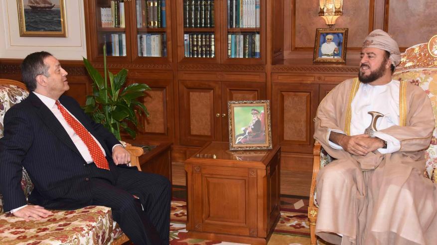 السيد أسعد يبحث التعاون مع سفيري إيطاليا والبرازيل