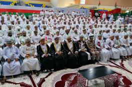 والي عبري يستقبل جموع المهنئين بالعيد الوطني 49 المجيد