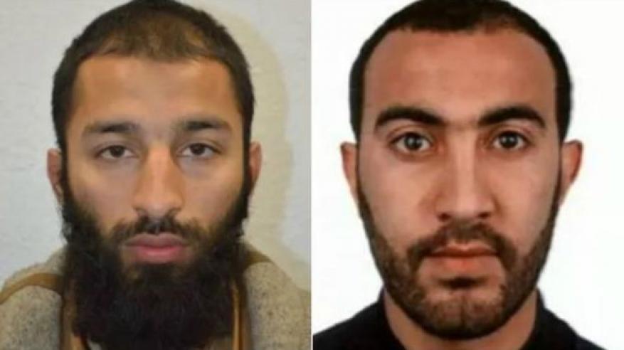 الإعلان عن هوية اثنين من منفذي هجمات لندن