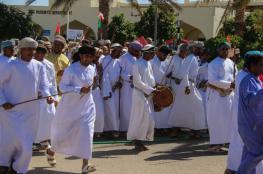 مسيرة لموظفي مستشفى إبراء احتفالا بالعيد الوطني