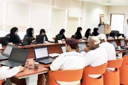 حلقة تدريبية على برنامج إكسل لموظفي التعليم العالي