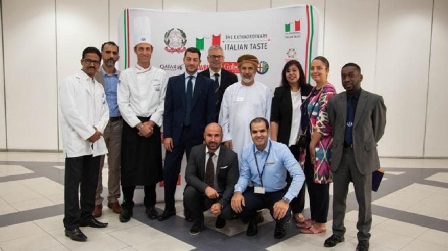 كلية عمان للسياحة تستضيف فعاليات أسبوع الطعام الإيطالي