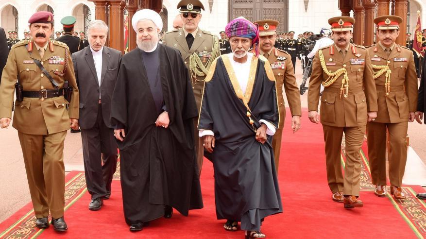 بالفيديو .. جلالة السلطان يستقبل الرئيس الإيراني