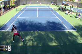 بالفيديو... مشاجرة باللكمات بين لاعبتي تنس