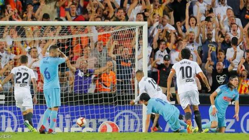 بالفيديو ..فالنسيا يخطف تعادلا مثيرا من أتلتيكو مدريد