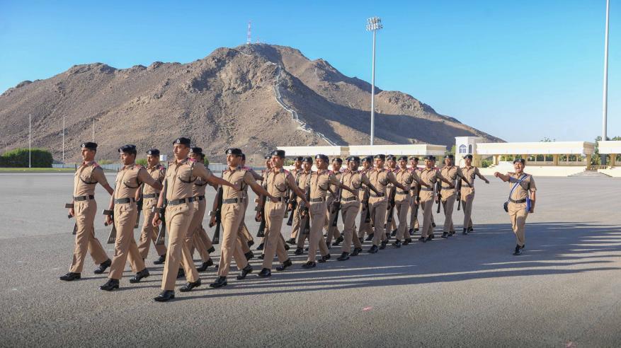 انطلاق مسابقة شرطة عمان السلطانية للمشاة