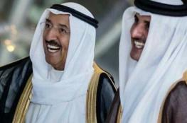 أمير قطر يتلقى رسالة خطية من أمير الكويت