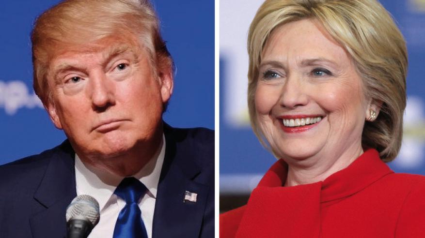 احتدام المنافسة بين ترامب وكلينتون.. وتفوق نسبي للمرشحة الديمقراطية