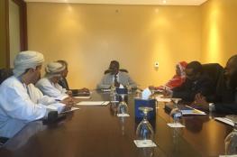 بحث تعزيز التعاون الصحي بين السلطنة والسودان