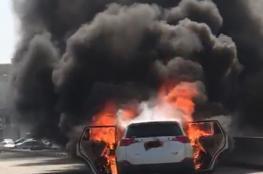 شرطة عمان السلطانية تنفي احتراق سيارة تابعة لها
