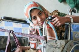 صرخة فتاة يمنية على كرسي متحرك في وجه العالم: أوقفوا الحرب