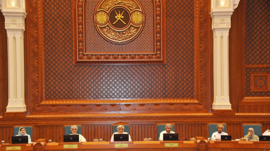 جلالة السلطان يتلقى تهاني رئيس مجلس الدولة بمناسبة يوم النهضة المباركة