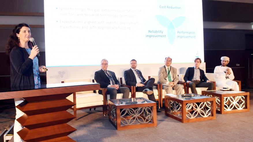 تواصل أعمال مؤتمر اقتصاد المحيطات وتكنولوجيا المستقبل