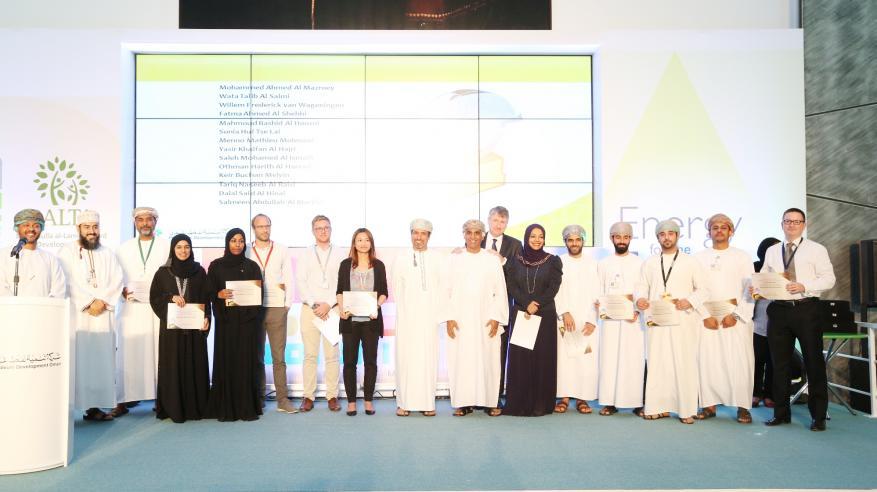 """""""تنمية نفط عمان"""" تكرم الفائزين بجوائز اليوم السنوي.. وتطلق مبادرات للاستدامة البيئية"""