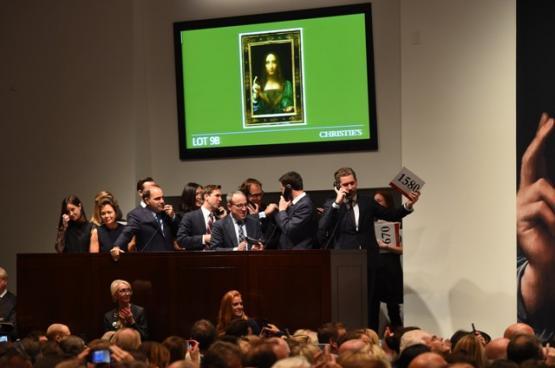 بيع لوحة لدافنشي بـ450 مليون دولار