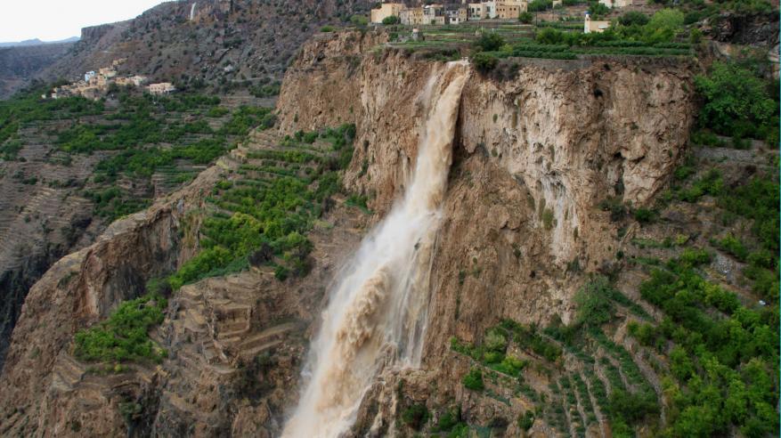 شلال وادي العين بالجبل الاخضر - Copy