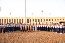 افتتاح دورة مبادئ الفروسية للضباط المرشحين