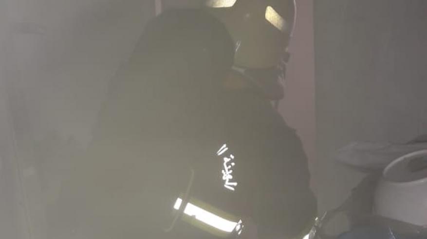 السيطرة على حريق بمنزل في صور