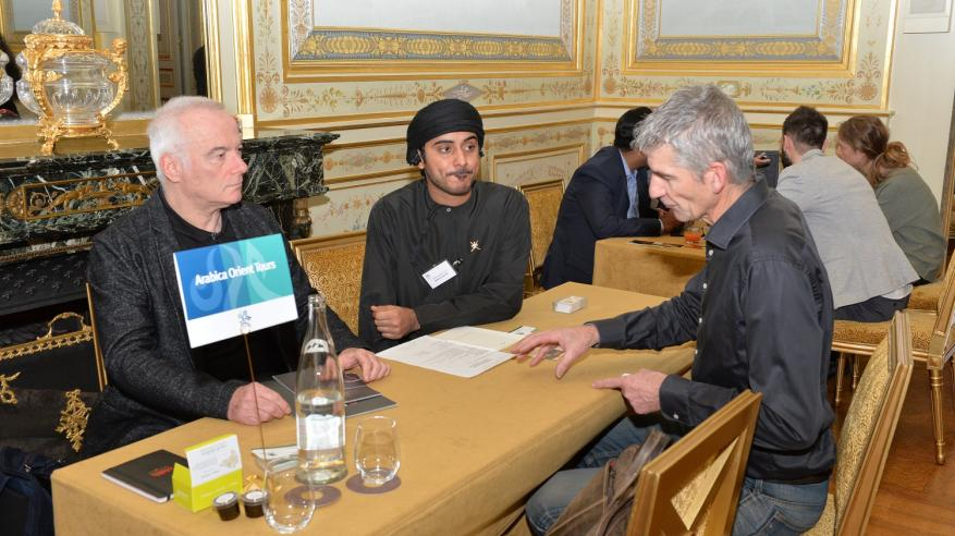 صورة أرشيفية لفعالية سابقة للشركات الفرنسية3