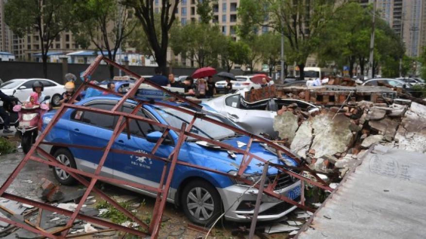 """إعصار """"ليكيما"""" يحصد عشرات القتلى والمفقودين في بالصين"""