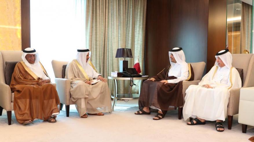 تعرف على فحوى رسالة العاهل السعودي إلى أمير قطر