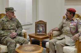 رئيس أركان قوات السلطان المسلحة يستقبل قائد قيادة النقل الأمريكية