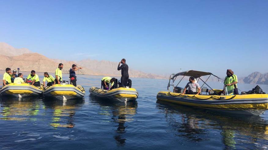 استمرار البحث عن المواطن المفقود إثر تصادم قاربين بخصب