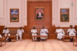 """رئيس """"الشورى"""" يستقبل وفد البحرية السلطانية العمانية والمشاركين في برنامج """"قياديو المسرعات"""""""