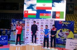 منتخب التايكوندو يحصل على فضيّة بطولة الفجر في إيران
