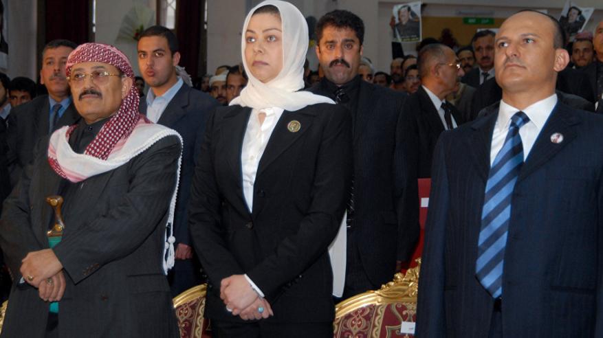 حقيقة وفاة والدة رغد صدام حسين