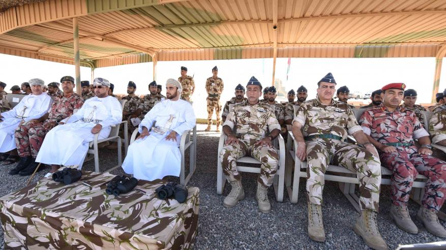 بمشاركة الجهات العسكرية والأمنية والمدنية