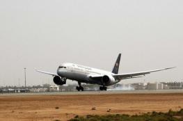نجاة 127 راكباً على متن طائرة سعودية