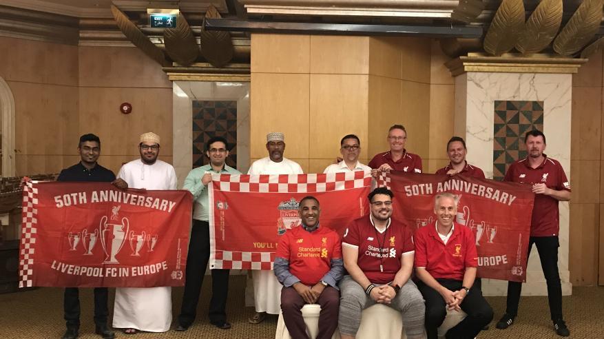 رابطة مشجعي نادي ليفربول في السلطنة تحتفل بالذكرى السنوية السابعة لتأسيسها