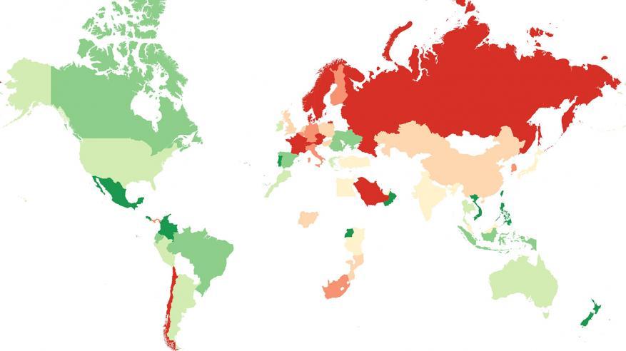 """السلطنة الأولى عربيا والسادسة عالميا بقائمة أفضل الدول """"الودودة"""""""
